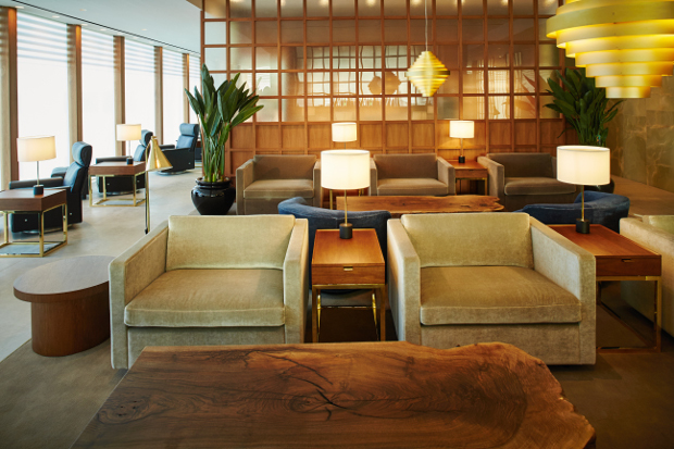 Cathay Pacific's refurbished Heathrow lounge
