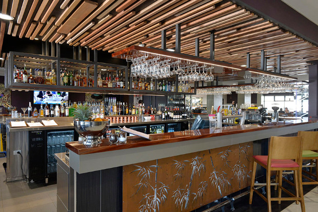 The Fork & Dagger Bar & Grill at the Rydges Hotel Palmerston.