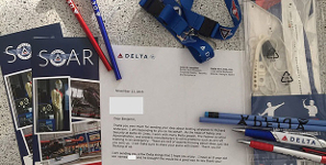 Delta Rewards Eight-Year-Old For Air Crash Recovery Idea