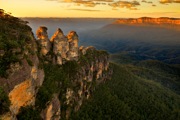 Scenic view of Echo Point in the Blue Mountains