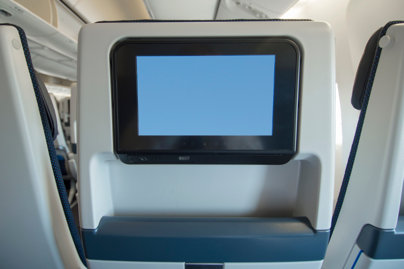A seatback entertainment system