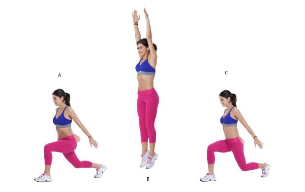 lunge jump