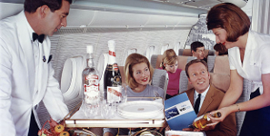 A History Of In-Flight Snacks