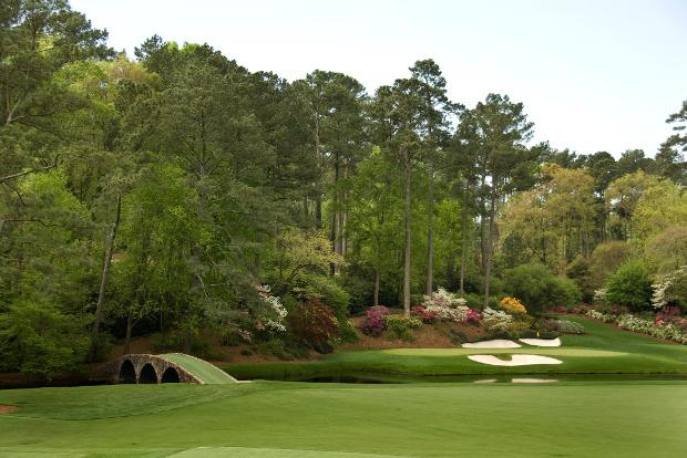 The prestigious Augusta Golf Club in Georgia, USA.