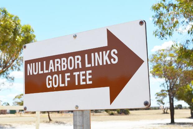 Nullarbor Golf Links, Australia.