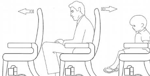 'Leg Adjustable' Plane Seats Equal Good Times For Tall Passengers