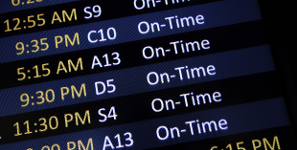 Airlines Boost On-Time Arrivals, Reduce Cancelled Flights