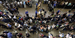 Record Number Of Travellers Strain Seattle airport