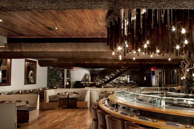 The interiors of Sushi Roku in Las Vegas