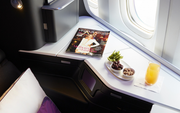 Side table space offered in the new VA Business Class