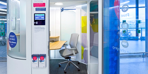 Business Nomads: Would You Use An Airport Workpod?
