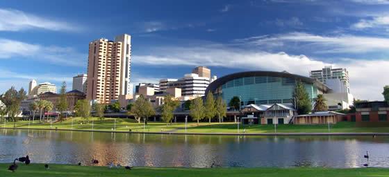Adelaide: Skyline