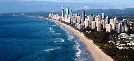 Gold Coast: Coastline