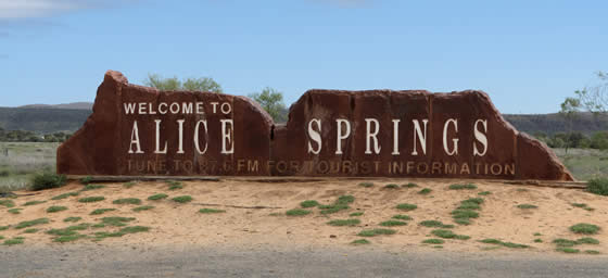 Northern Territory: Welcome to Alice Springs