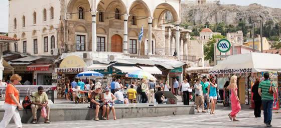 Athens: Monastiraki Square