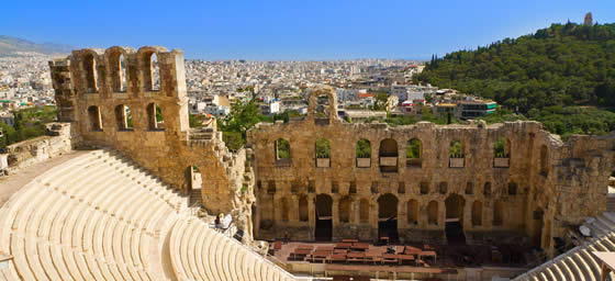 Athens: Odeon of Erodes Atticus