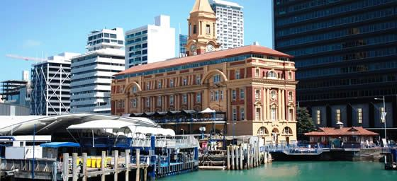 Auckland: Harbour Ferry Building