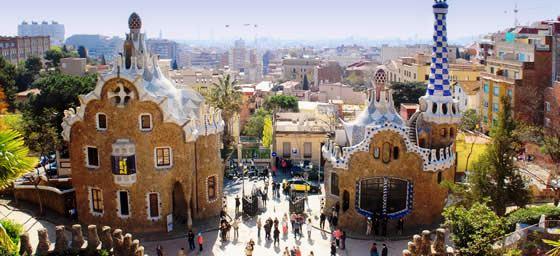 Barcelona: Park Guell Entrance