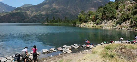 Central America: Lake Atitlan