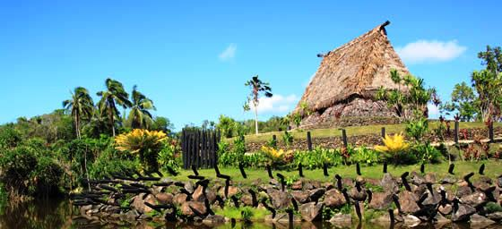 Fiji: Traditional House