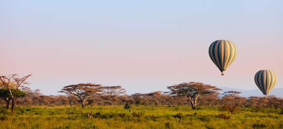 Kenya: Hot Air Balloons