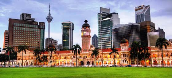 Kuala Lumpur: City Buildings