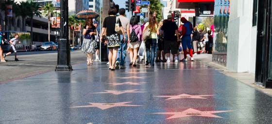 Los Angeles: Stroll among the stars on the Hollywood walk of fame