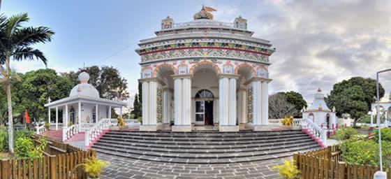 Mauritius: Hindu Temple at Triolet