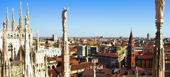 Milan: City Rooftops