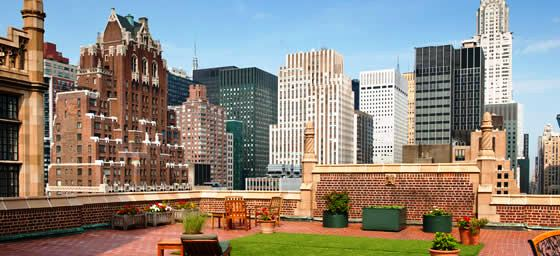 North America: Terrace Over Manhattan