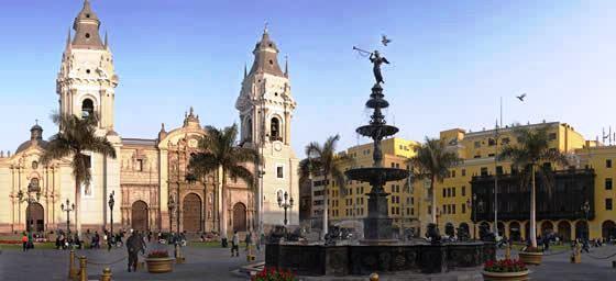 Peru: Plaza de Armas, Lima