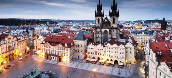 Prague: City