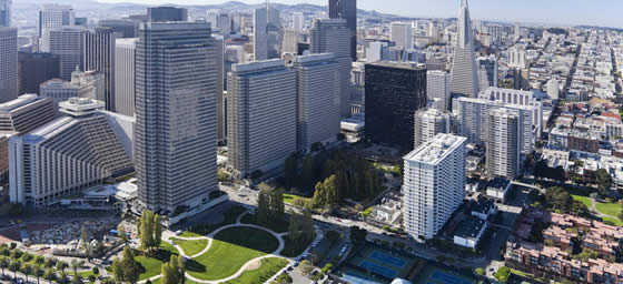 San Francisco: Downtown Aerial