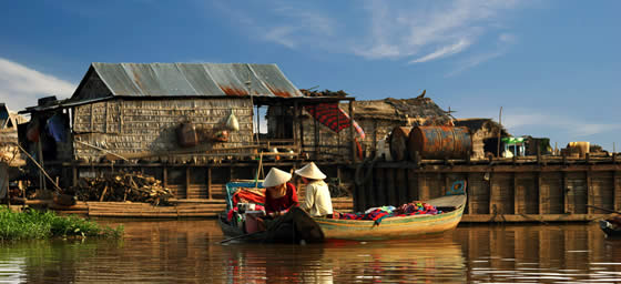 Siem Reap: Floating Village
