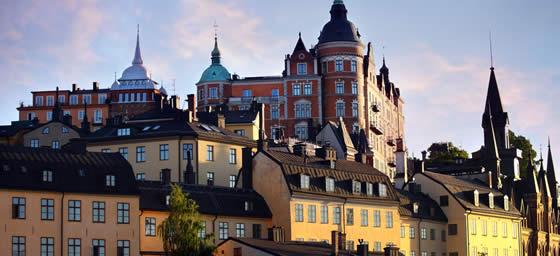 Stockholm: Rooftops