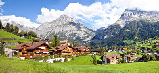 Switzerland: Grindelwald Village