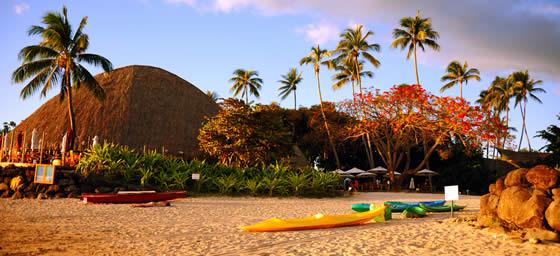 Tahiti: Beach Sunset