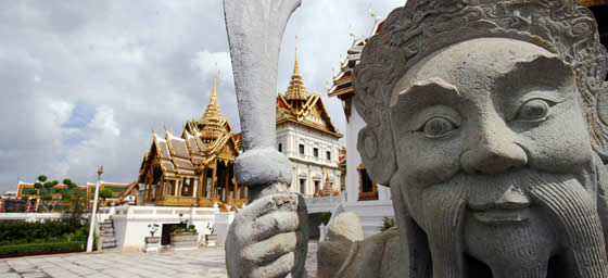 Thailand: Grand Palace Statue