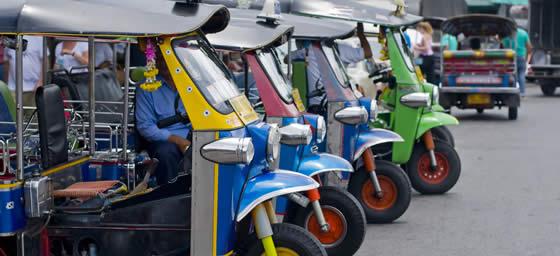 Thailand: Tuk Tuk
