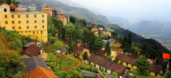 Vietnam: Sapa Hillside