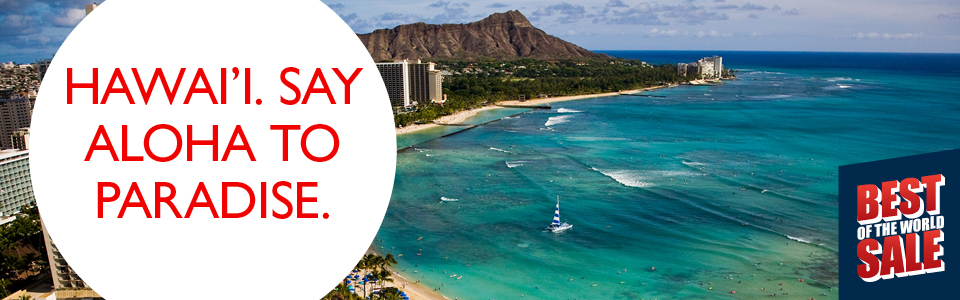 Package deals sydney to hawaii