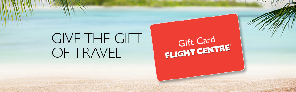 gift cards flight centre - Travel Gift Cards