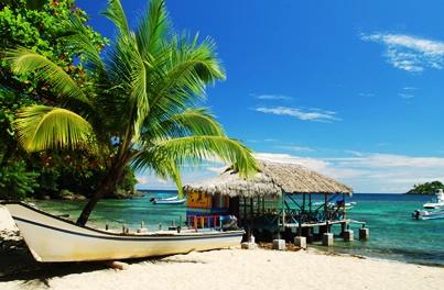 Idyllic Caribbean Beach