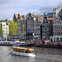Amsterdam Flights + 4 Nights 4-Star