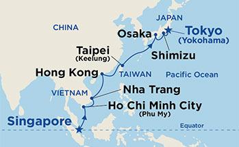 Cruises From Singapore Cruise Deals Departing Singapore