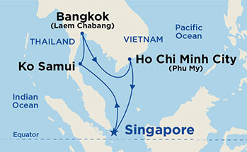 Cruises from Singapore | Cruise Deals Departing Singapore