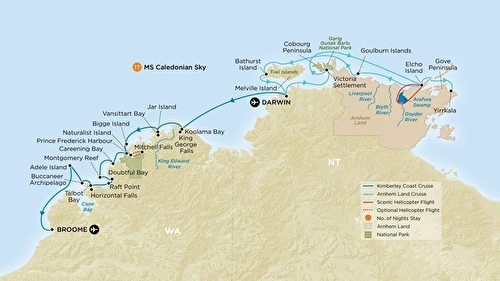 Ms Caledonian Sky Cruises Ship Deals And Information