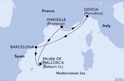 MSC Grandiosa Cruises - Ship Deals and Information 2020 & 2021