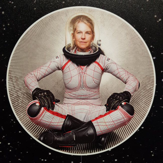 woman in space suit, Smithsonian Museum, Washington D.C.