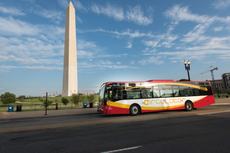 DC Circulator bus, Washington D.C., USA
